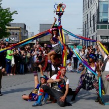Maypole Pose with Folk Dance Remixed