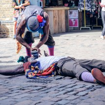 The Resurrecting Boot from Step Hop House Step Hop House show at Olympic Park by Talie Eigeland