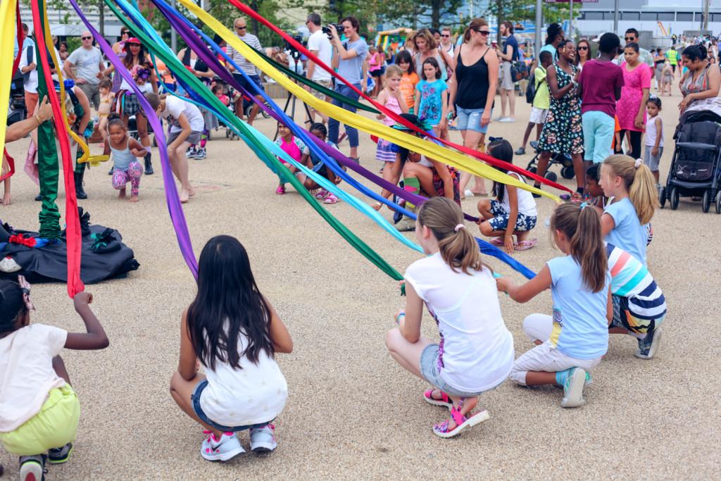 Street Dance the Maypole workshop at Olympic Park by Talie Eigeland