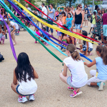 Street Dance the Maypole workshop at Olympic Park by Talie Eigeland