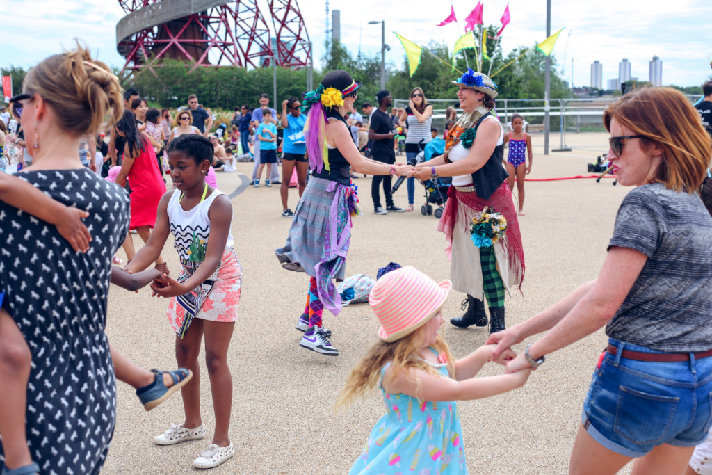Ceilidh Jam at Olympic Park by Talie Eigeland