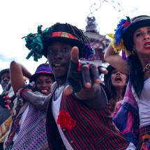 Folk Dance Remixed Step Hop House show at Olympic Park by Talie Eigeland