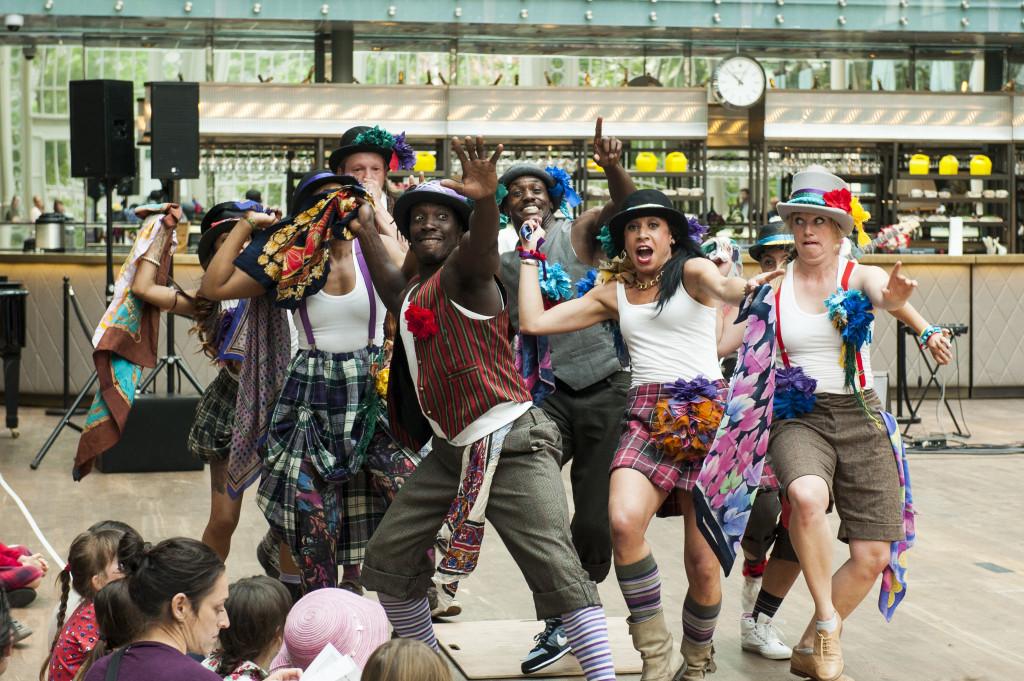 Folk Dance Remixed at Royal Opera House