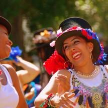 Smiling Folk Dance Remixed faces